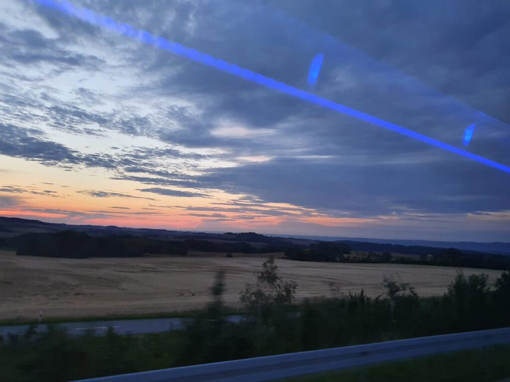 26.07.2021 - View out of the bus window.